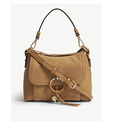 Joan Small Suede Cross Body Bag by See By Chloe
