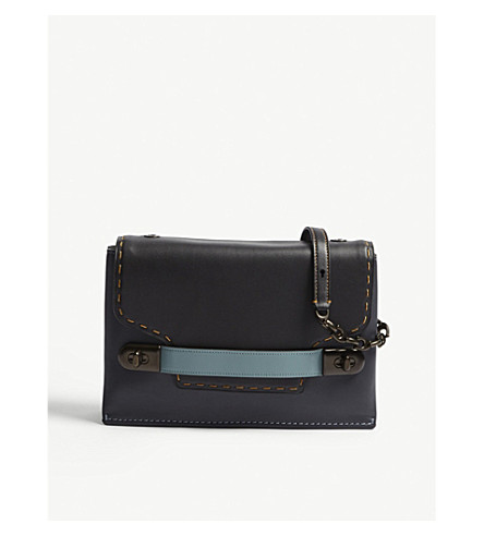 Swagger 28 Leather Cross Body Bag by Coach