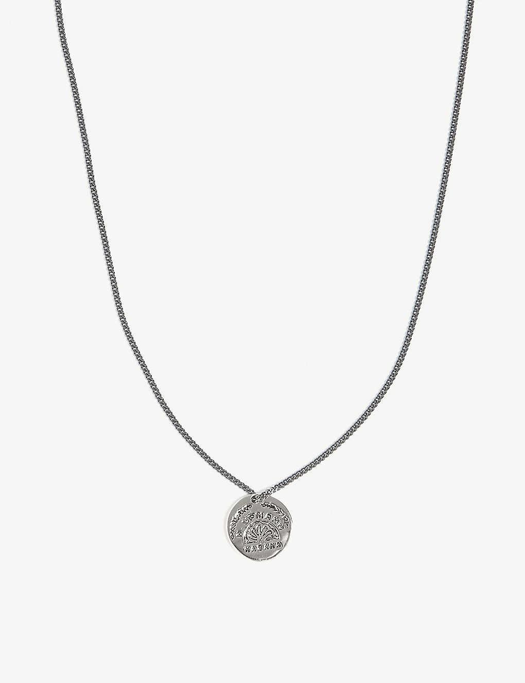 Miansai Viñales pendant sterling-silver necklace yWjK62aa