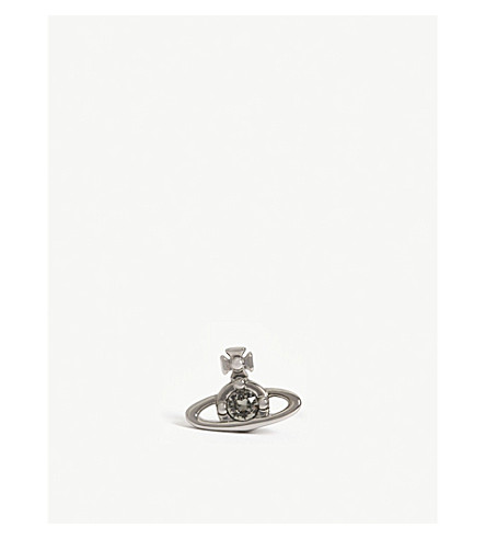 Nano Solitaire Single Stud Earring by Vivienne Westwood