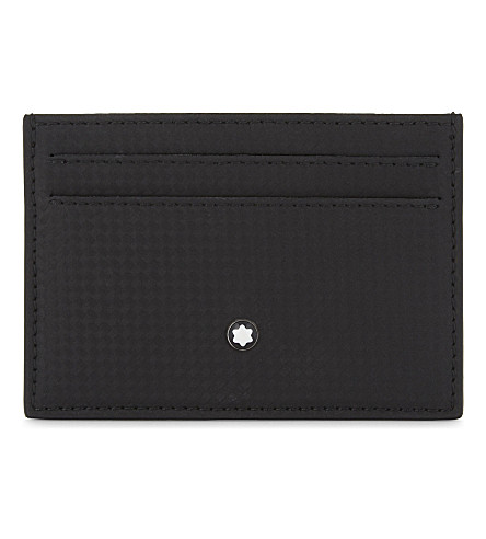 Extreme Pocket 5cc Leather Card Holder by Montblanc