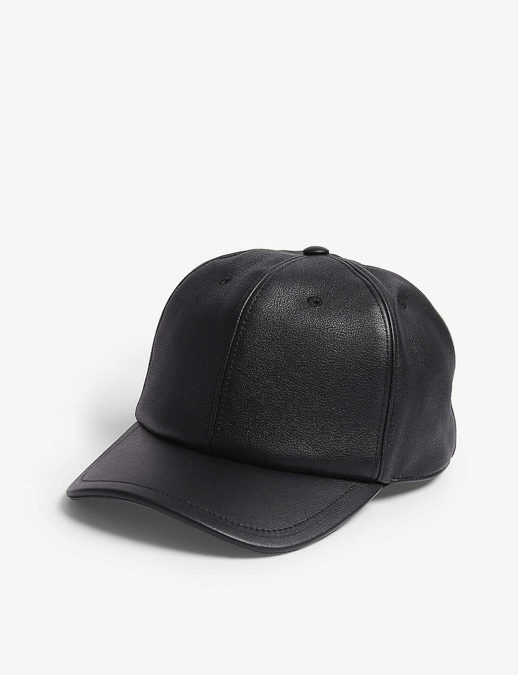 GIVENCHY - Address logo leather cap  df4b641f783