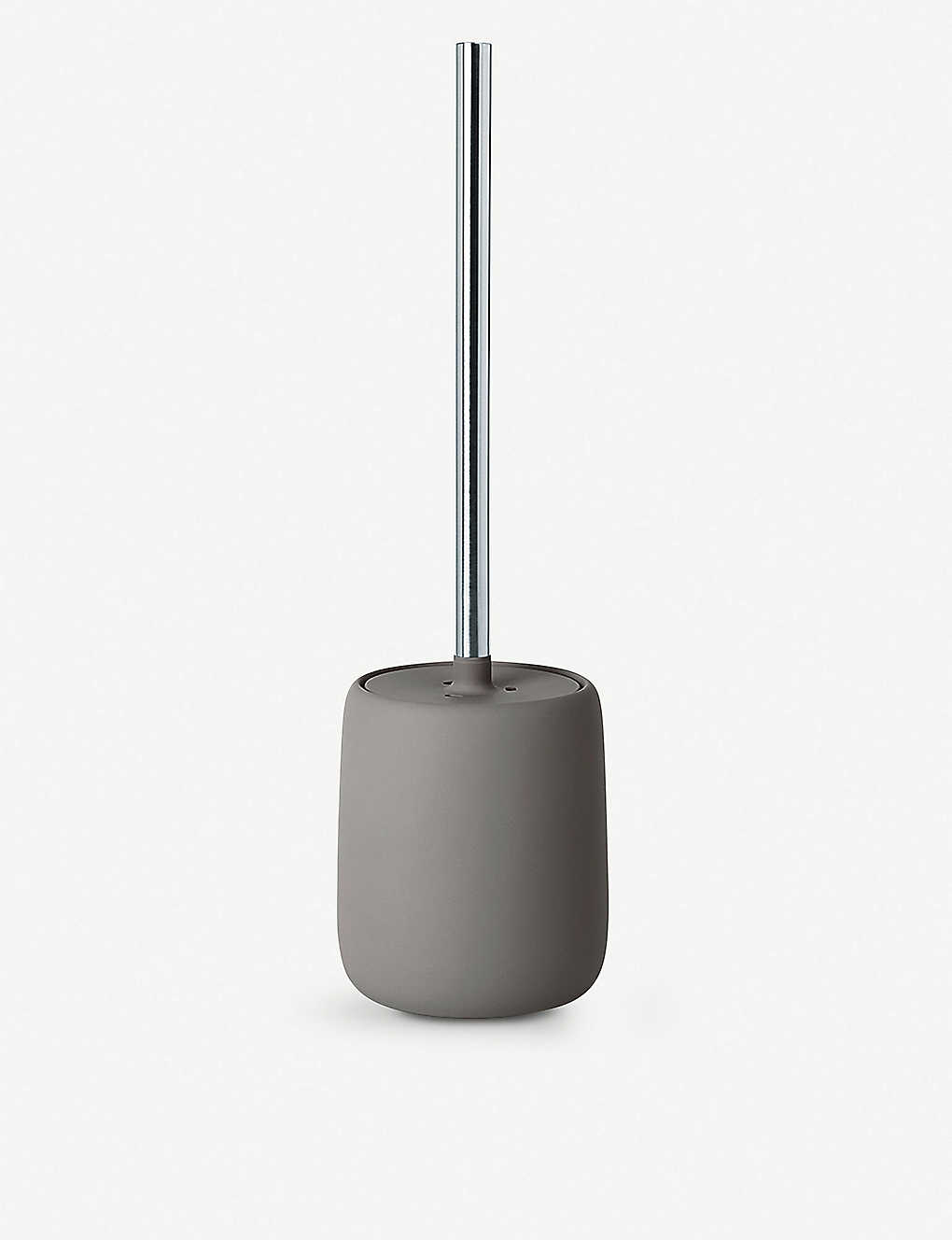 BLOMUS - Sono toilet brush and ceramic holder 39cm | Selfridges.com