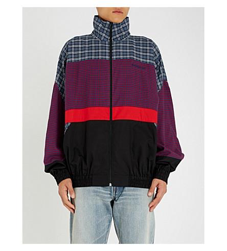 Patchwork Cotton Jacket by Balenciaga