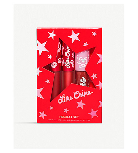 Holiday Lip Set by Lime Crime