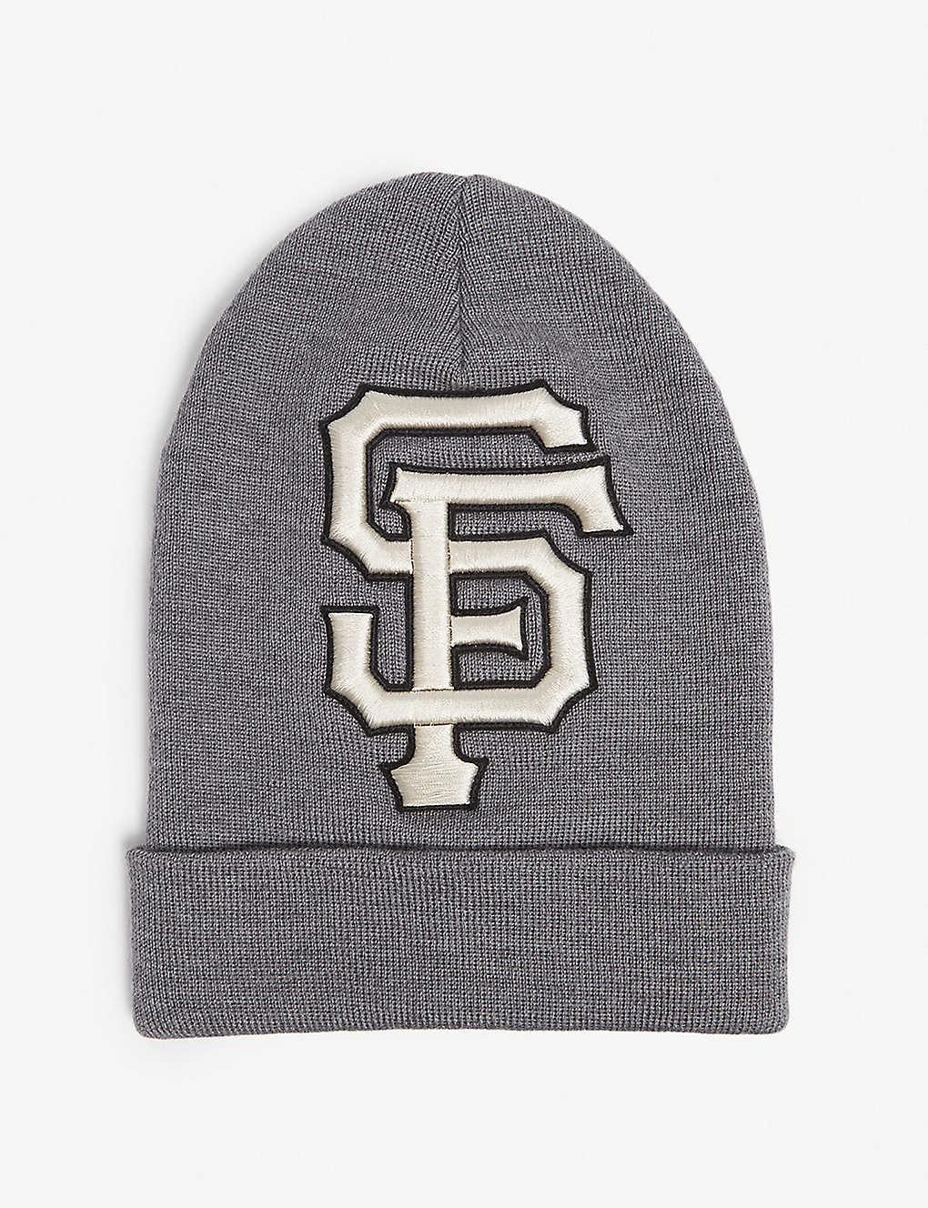 GUCCI - San Francisco Giants knitted wool beanie  e3c3e015ef8