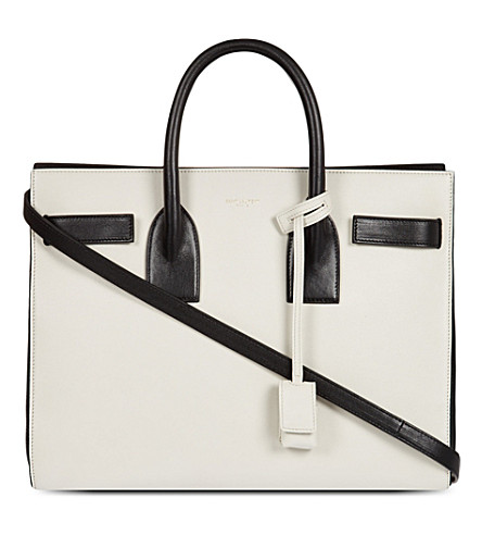 SAINT LAURENT Monochrome tote (Black/white)