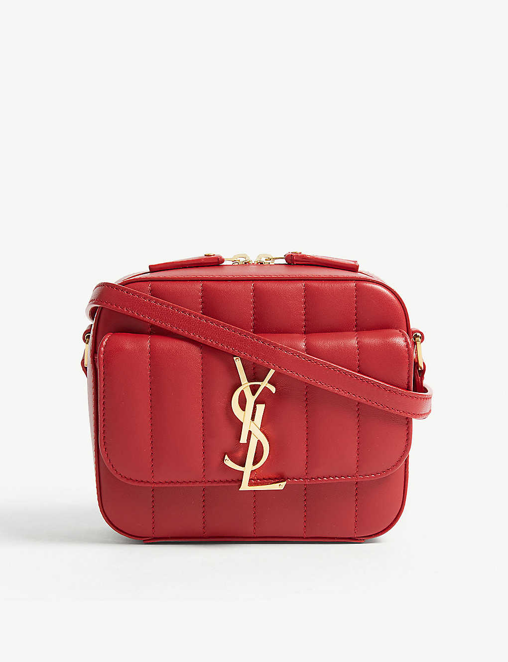 dca181eb7c SAINT LAURENT - Vicky toy quilted leather camera bag