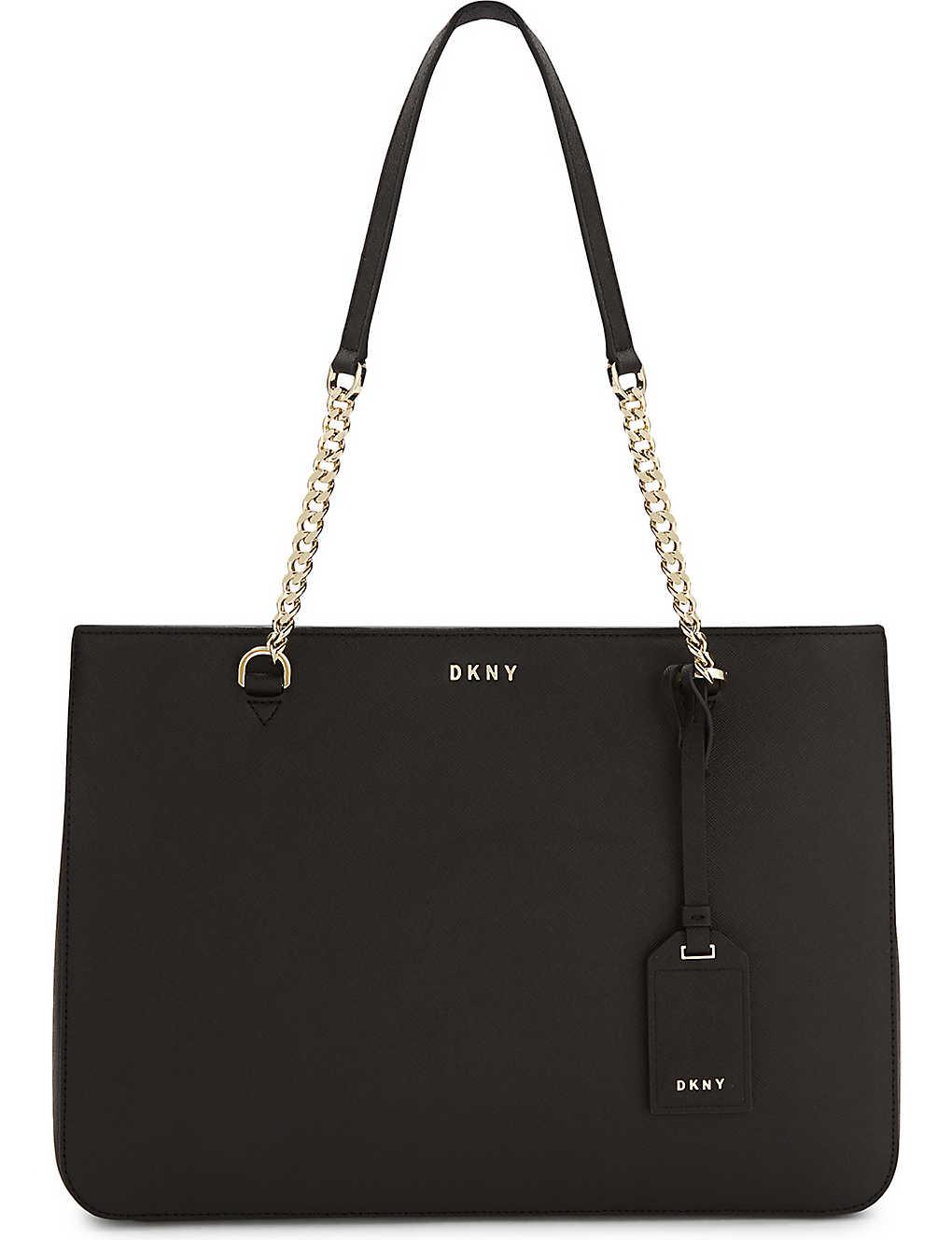DKNY - Bryant Park Saffiano leather shoulder bag | Selfridges.com