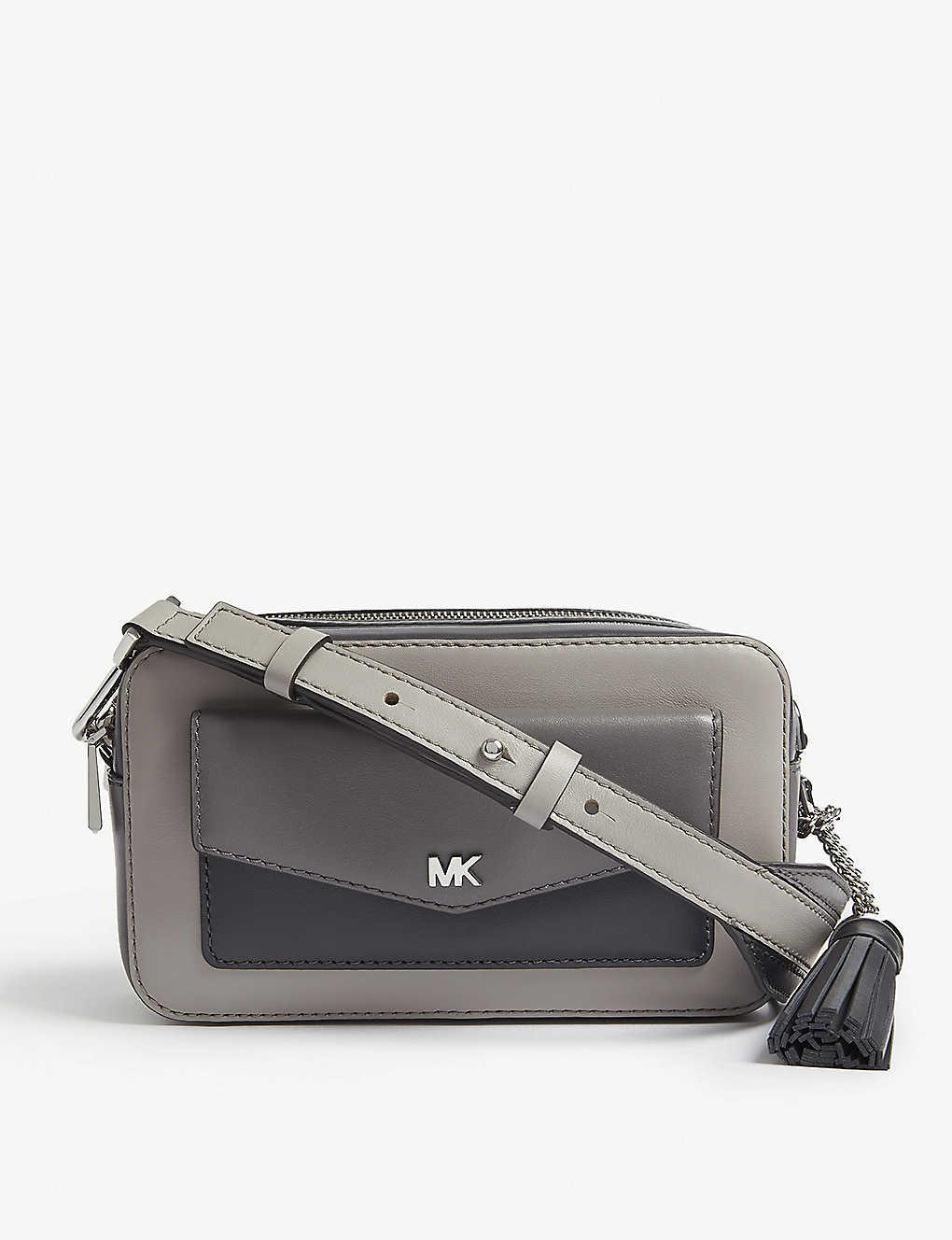 MICHAEL MICHAEL KORS - Leather small cross-body camera bag ... d41e3e5af1