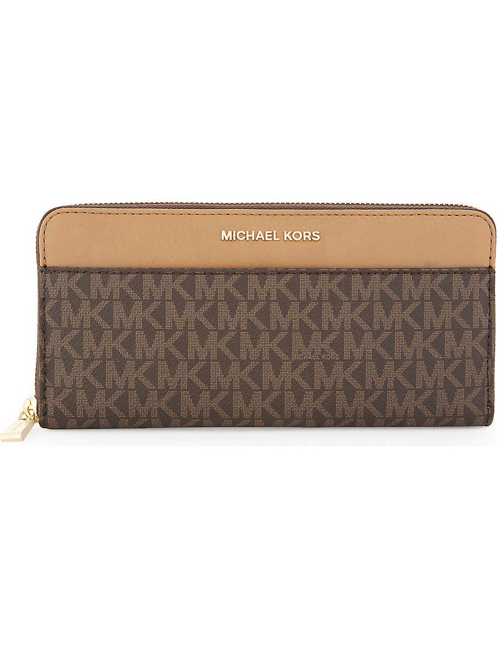MICHAEL MICHAEL KORS - Money Pieces leather continental wallet ... 61c3030fc0