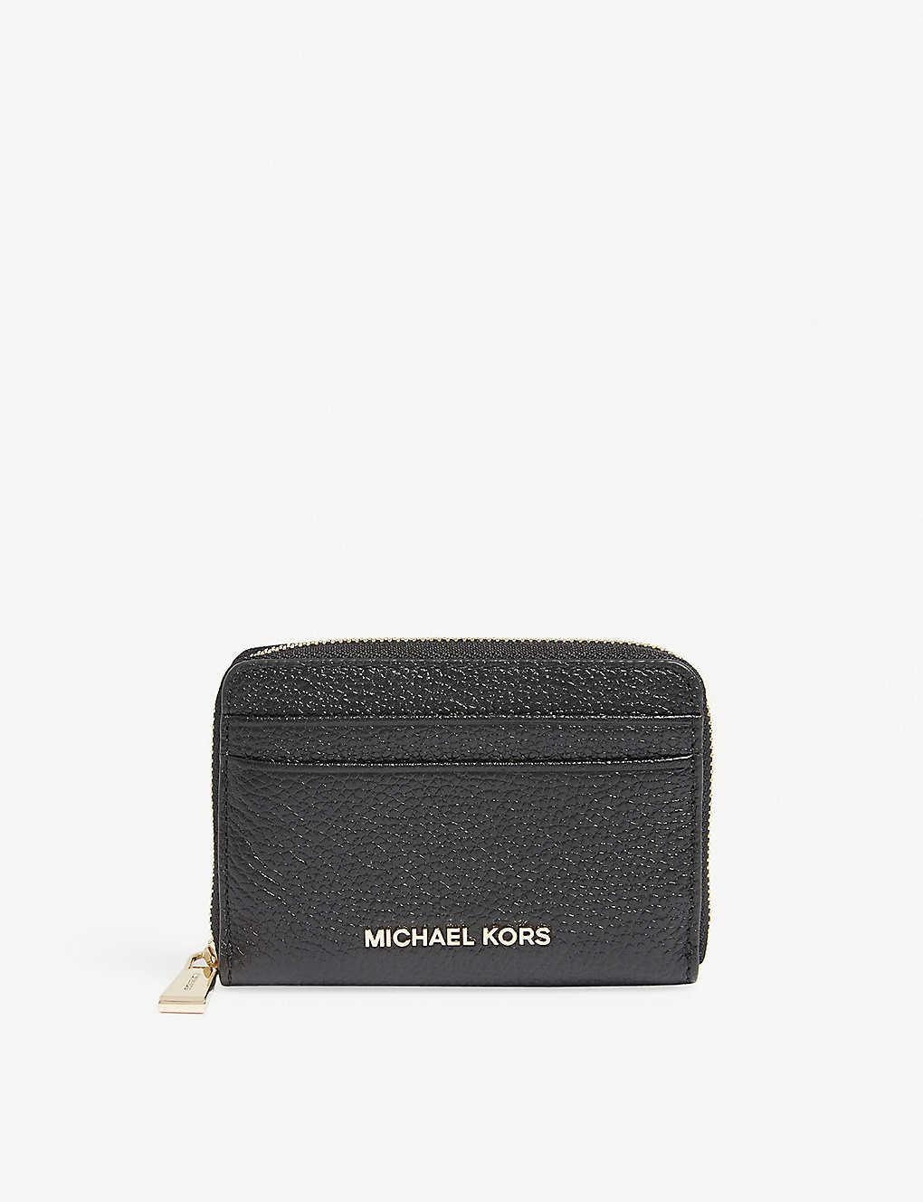 MICHAEL MICHAEL KORS - Money Pieces grained leather wallet ... d274937173