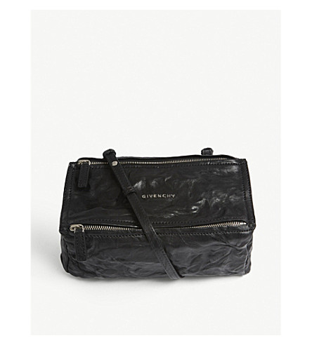 495e1863cb14 ... GIVENCHY Pandora mini leather shoulder bag (Black. PreviousNext