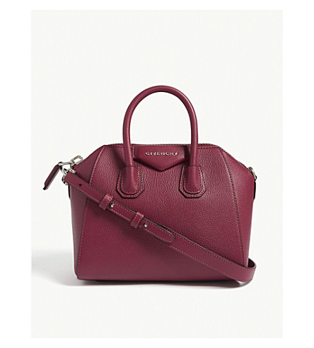 5b74e16390 ... GIVENCHY Antigona mini leather shoulder bag (Orchid+purple. PreviousNext
