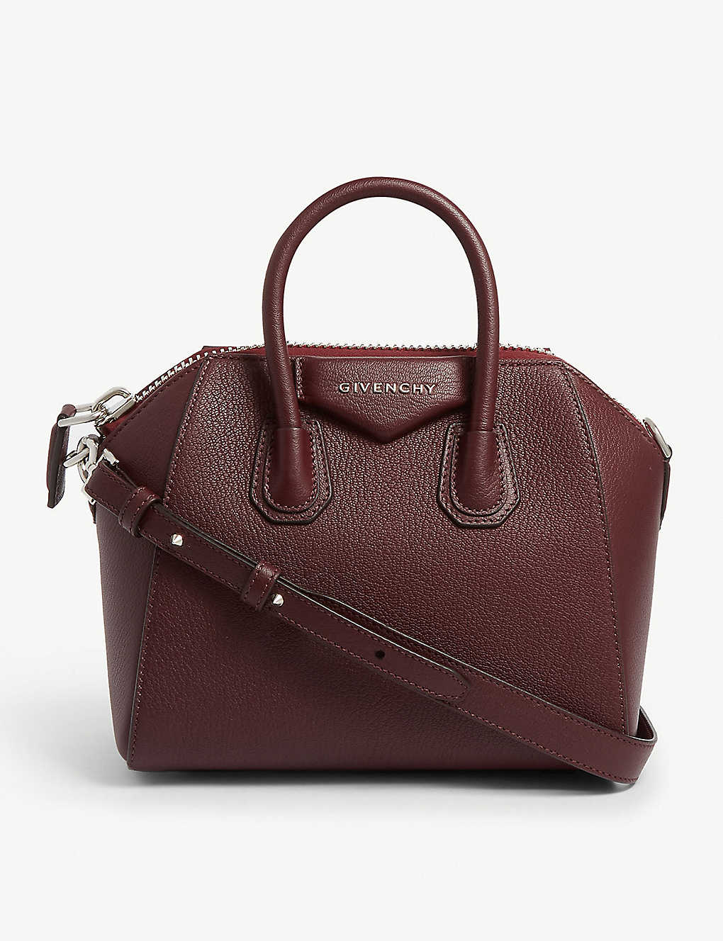 GIVENCHY - Antigona mini leather shoulder bag  d9aac5be749d5