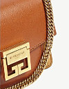 22d517d5e73 GIVENCHY - GV3 Mini leather and suede cross-body bag   Selfridges.com