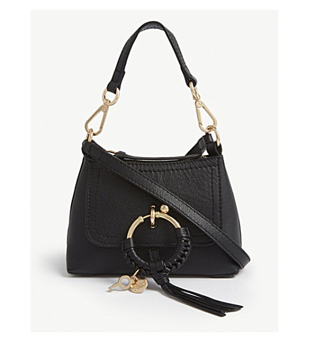 Joan Grained Leather Cross Body Bag by See By Chloe