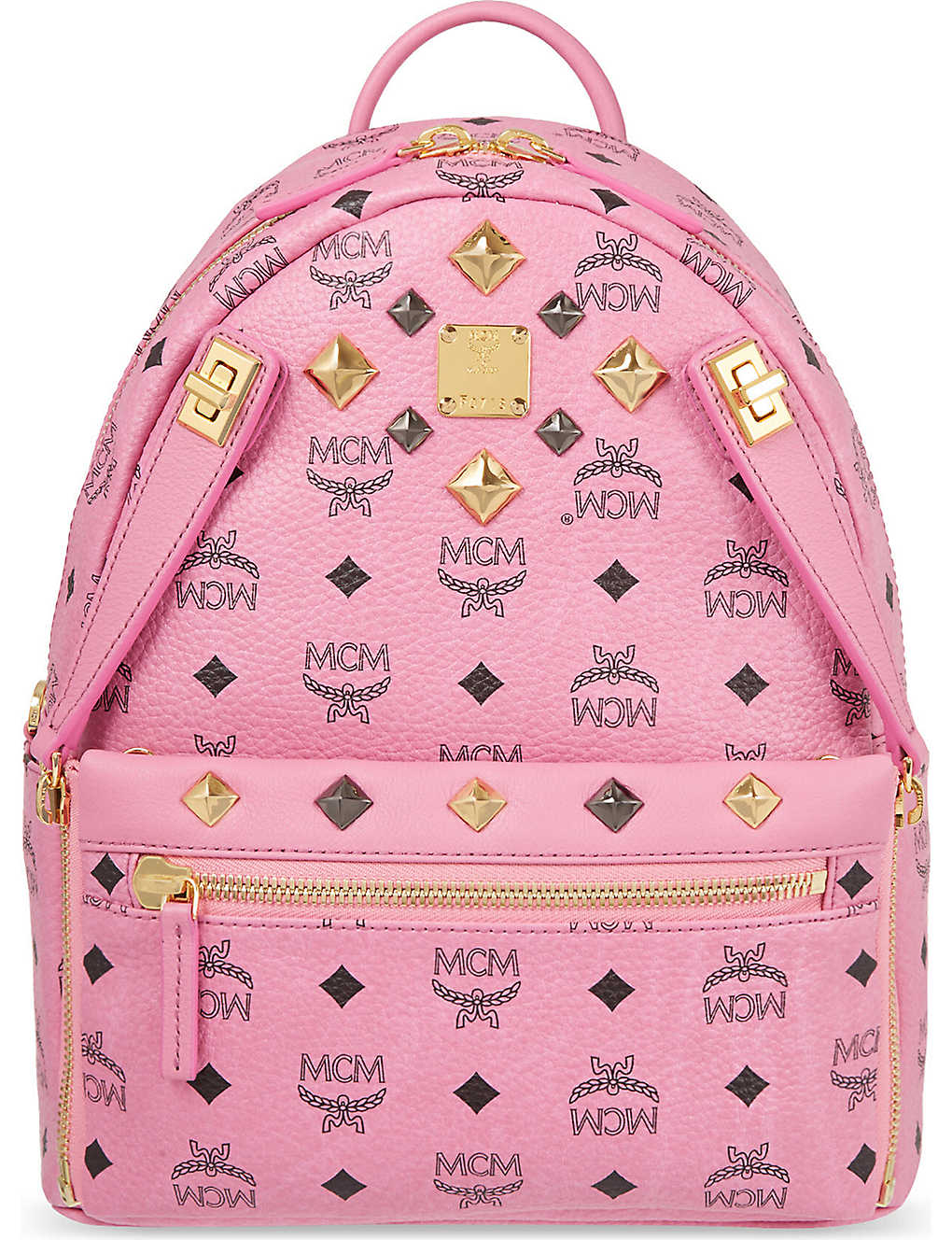 MCM Dual Stark small backpack (Pink