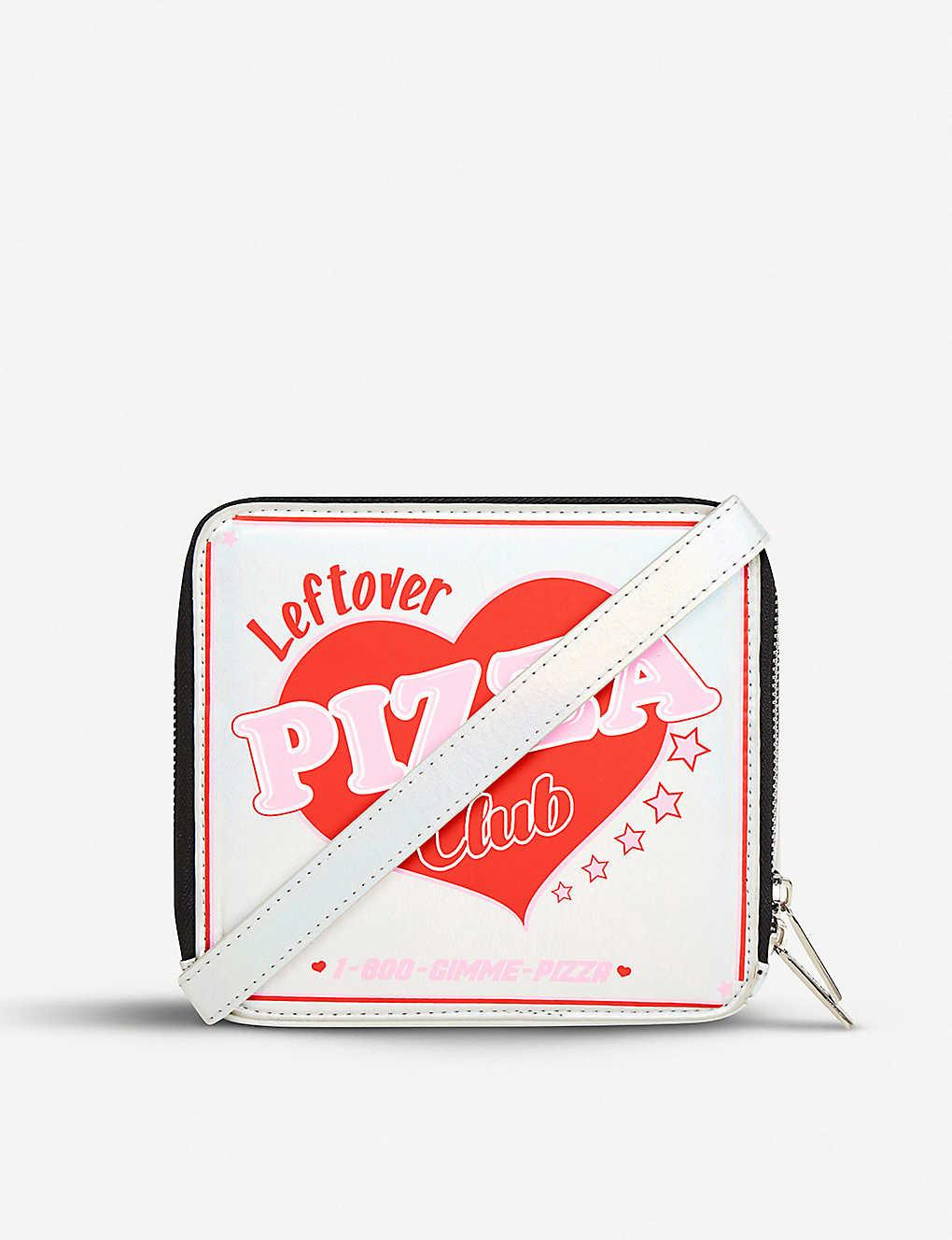 Pizza Club Novelty Cross Body Bag - Silver Skinny Dip o0nTAgd7