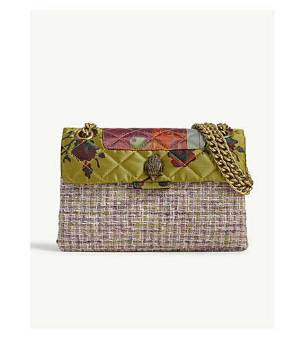 Fabric Kensington Shoulder Bag by Kurt Geiger London