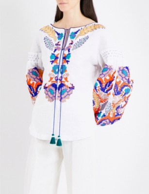 corporate-style-story-Yulia-Magdych-matches-embroidered-peasant-top