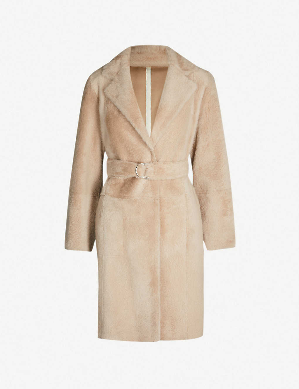 Shearling Yves Wrap Salomon Yves Wrap Coat Shearling Salomon XZPOkiTu