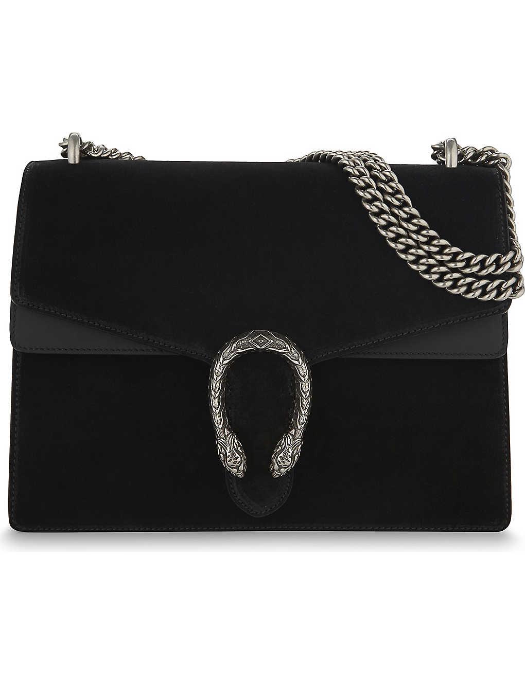 e3f569247e2b GUCCI - Dionysus medium suede shoulder bag