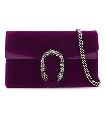 Gucci Dionysus Velvet Super Mini Bag
