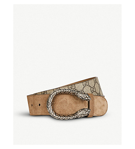 Dionysus Logo Leather Belt by Gucci