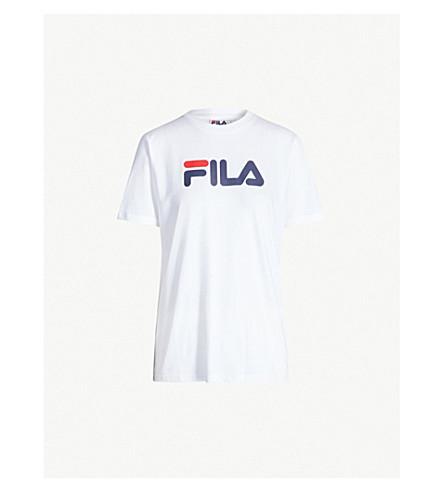 ab80c7636cc2 FILA - Logo-print cotton T-shirt