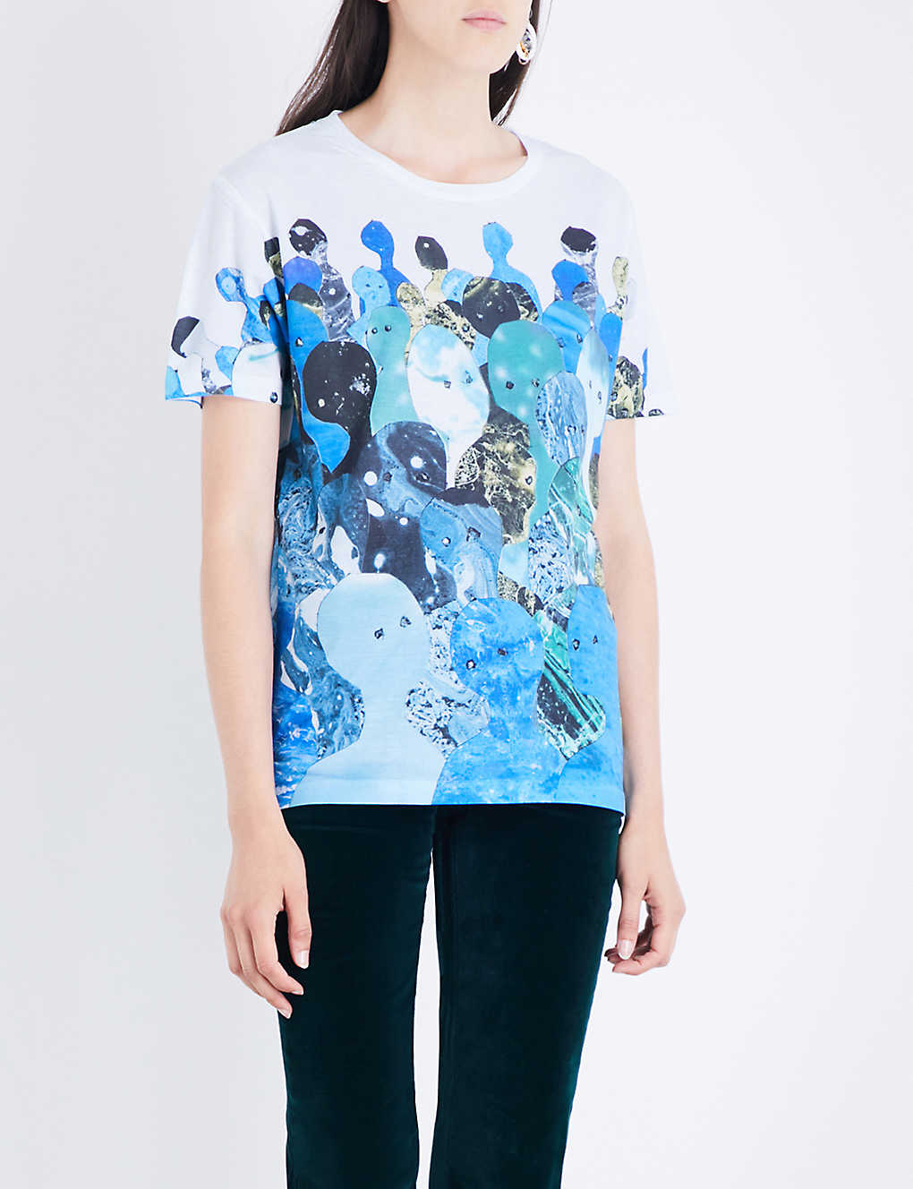 A MOON SHAPED POOL DYE SUB T-SHIRT | Clothes | W.A.S.T.E. UK