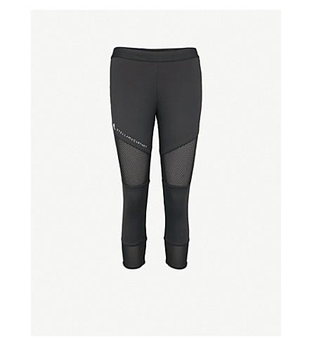 4fb7ac3b246a7 ... ADIDAS BY STELLA MCCARTNEY Performance Essentials cropped jersey  leggings (Black. PreviousNext