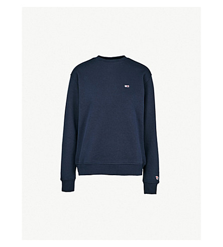 Classic Embroidered Logo Print Sweater by Tommy Jeans