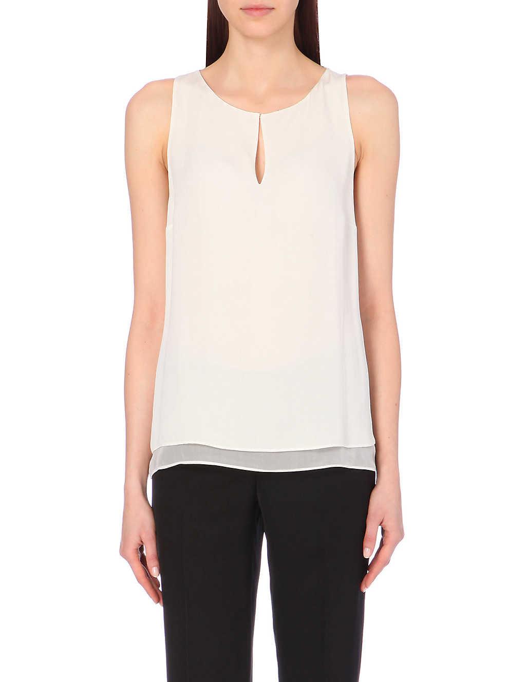 Diane von Furstenberg Silk Raica Top With Credit Card For Sale n6a3bFhFmW
