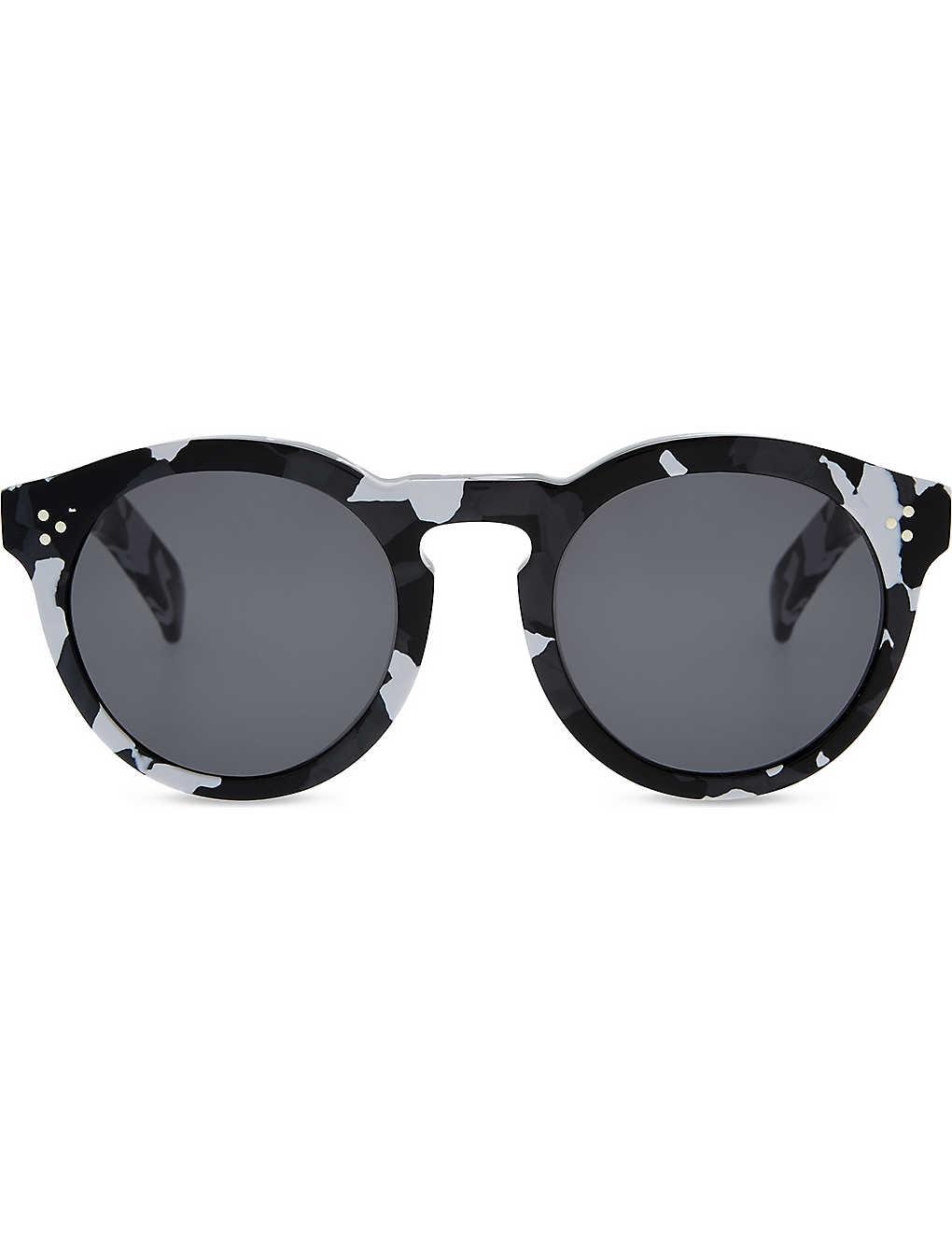 aa3e5ee719 ILLESTEVA - Leonard II round-frame sunglasses