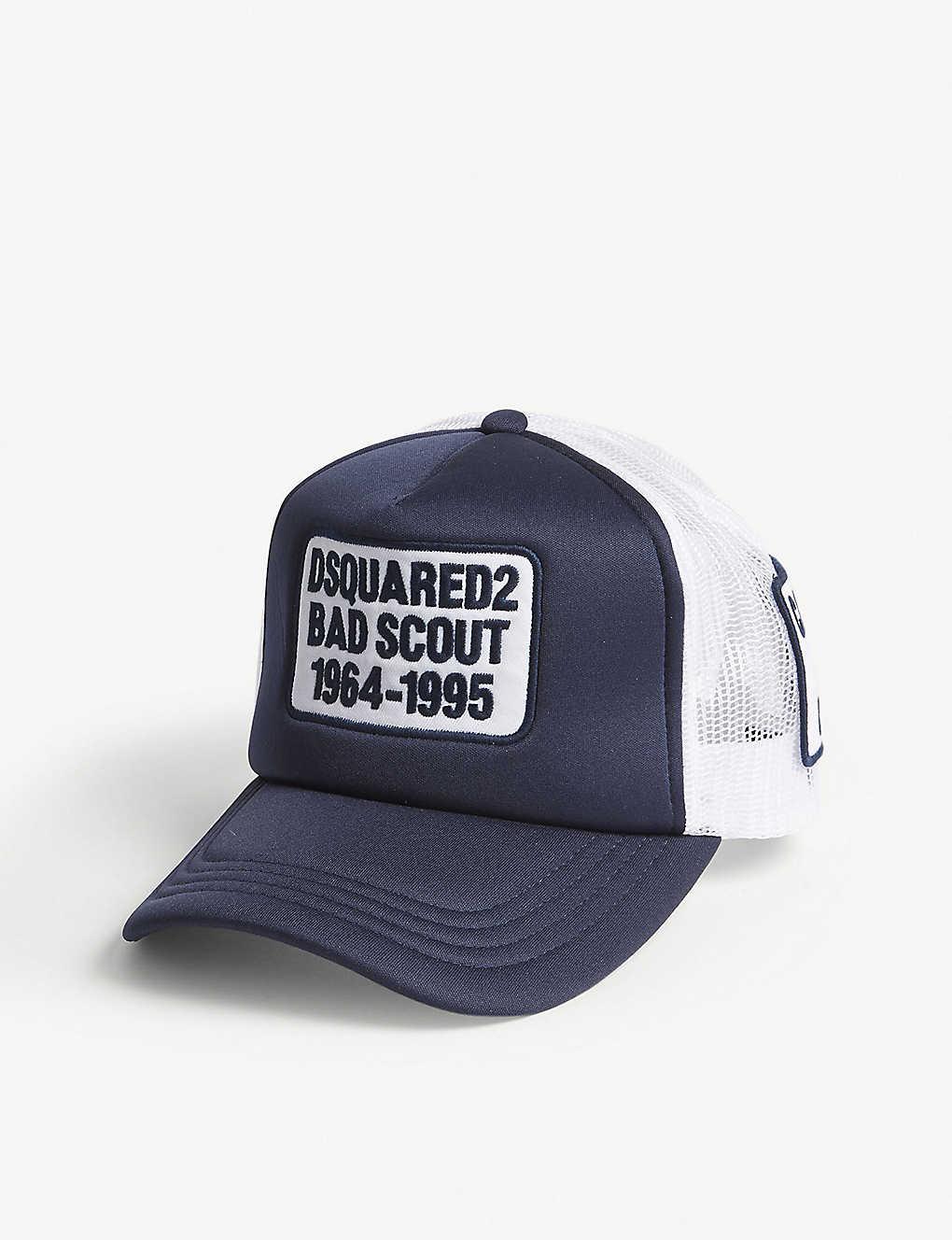 5d2d4775e29 DSQUARED2 - Bad Scout trucker snapback cap