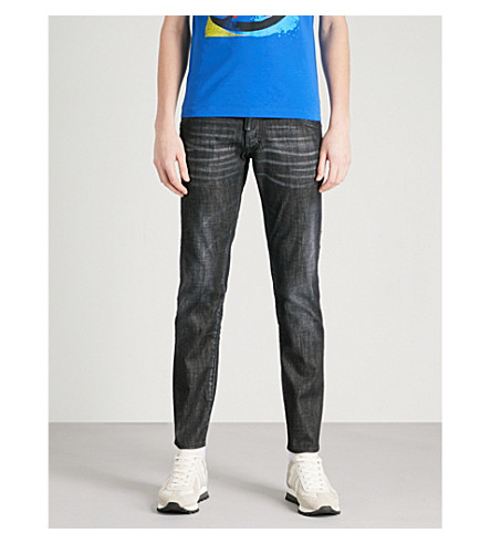... DSQUARED2 Clement regular-fit tapered jeans (Black. PreviousNext