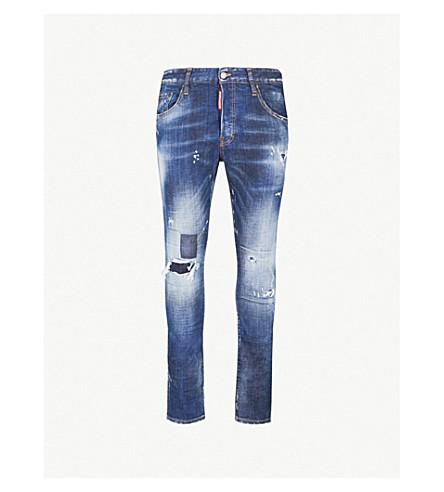 ... DSQUARED2 Skater slim-fit skinny jeans (Blue. PreviousNext d88ccb464bfa