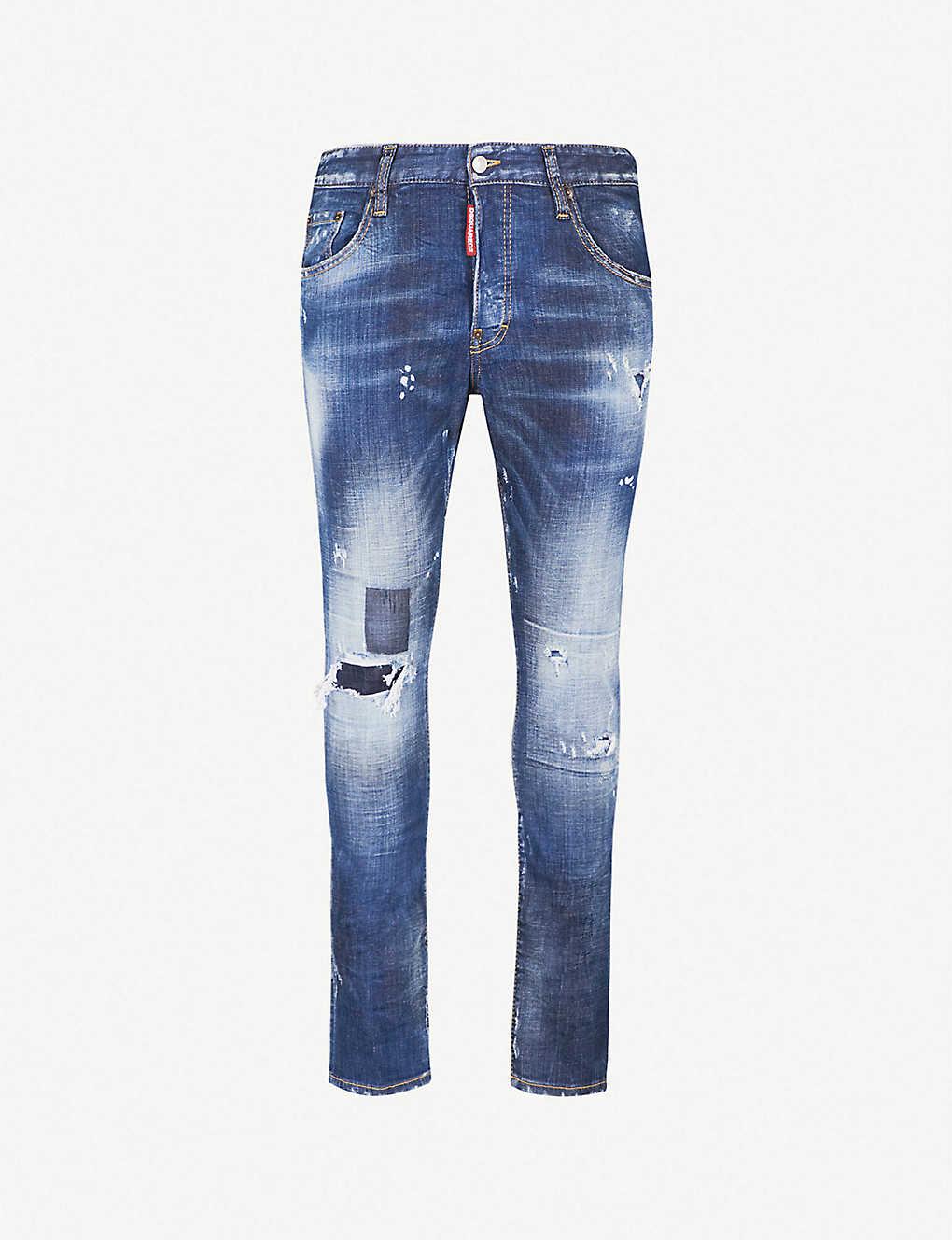 DSQUARED2 - Skater slim-fit skinny jeans  813502ae6f94