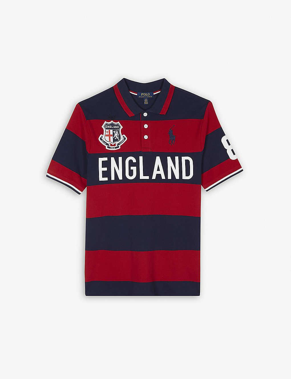 Ralph Lauren England Cotton Polo Shirt S Xl Selfridges
