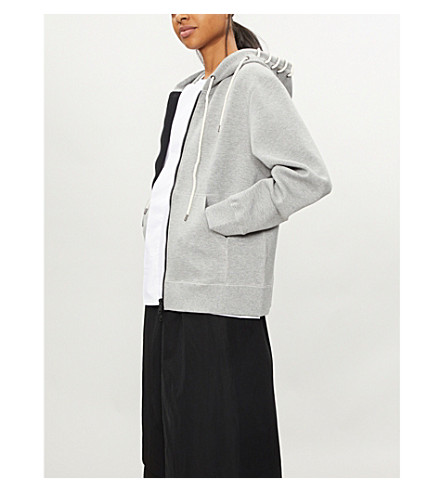 Laced Jersey Hoody by Craig Green