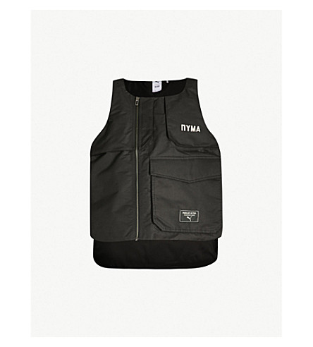 Shell Vest X Moscow Print Outlaw Padded Text Puma Sq4OxYw00