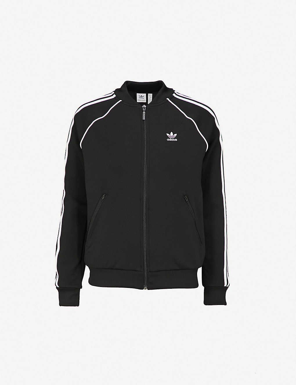 ADIDAS ORIGINALS - Striped jersey jacket   Selfridges.com 470f3350a1