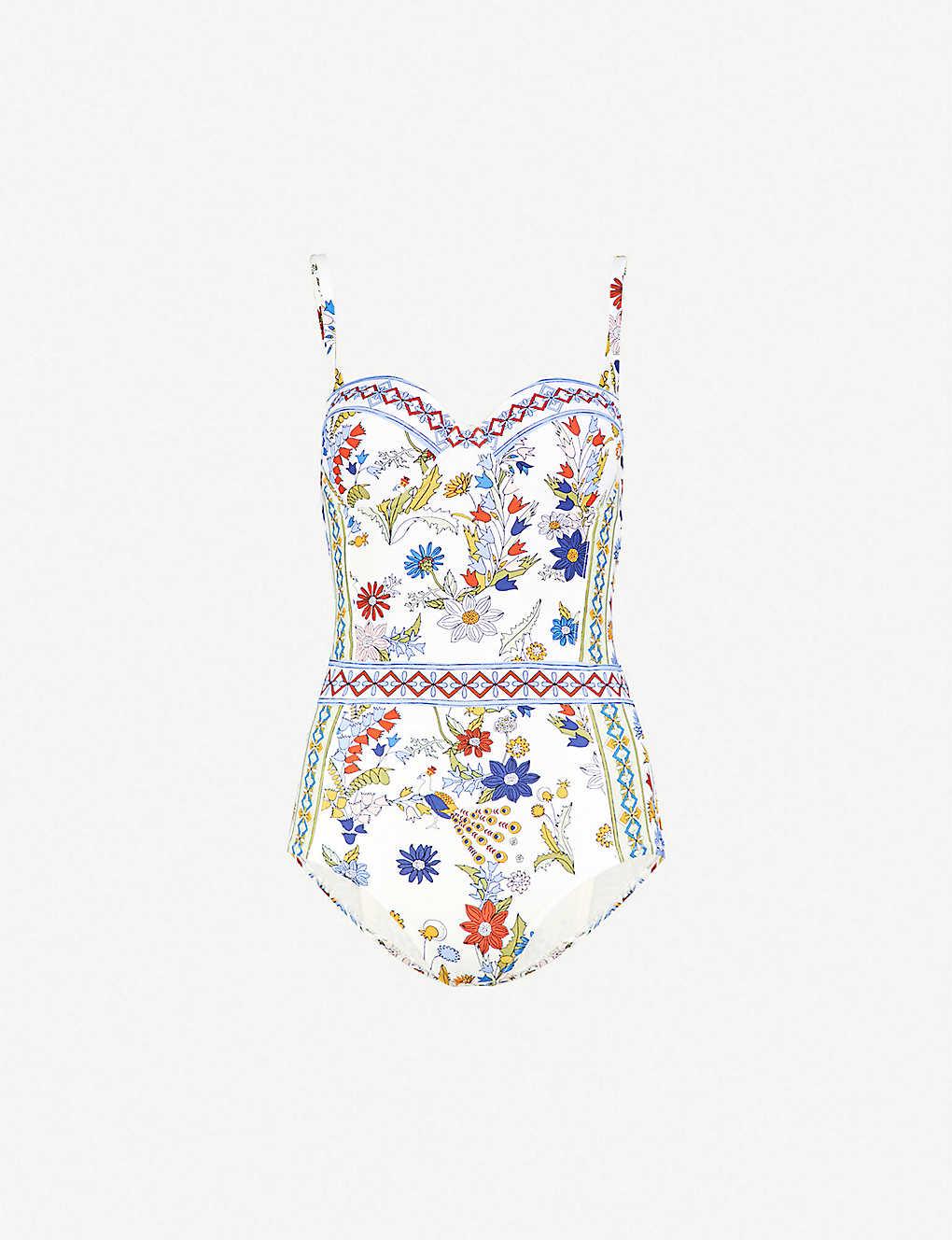 9058ede0b08c TORY BURCH - Meadow Folly balconette swimsuit