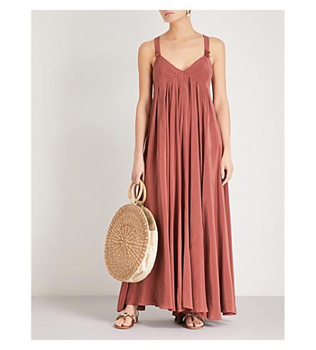 Geraldine cotton-blend maxi dress Three Graces London vOZ4MoCLcN
