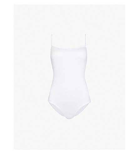 Maria Square Neck Swimsuit by Hunza G
