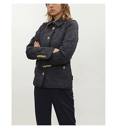 Frankby Quilted Shell Jacket by Burberry