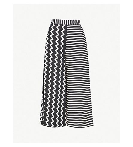 Multi Stripe Culottes