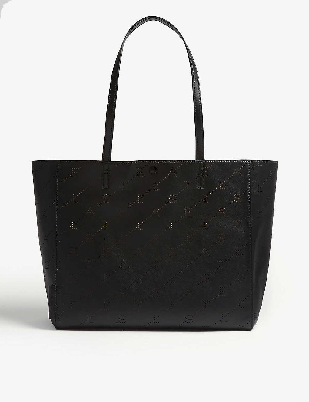 cddadc39d48 STELLA MCCARTNEY - Logo faux-leather tote