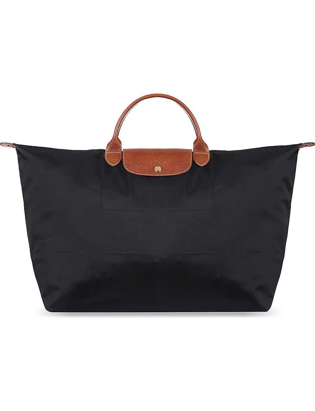 e2f9d525b72 Longchamp Weekend Bag Black   ReGreen Springfield
